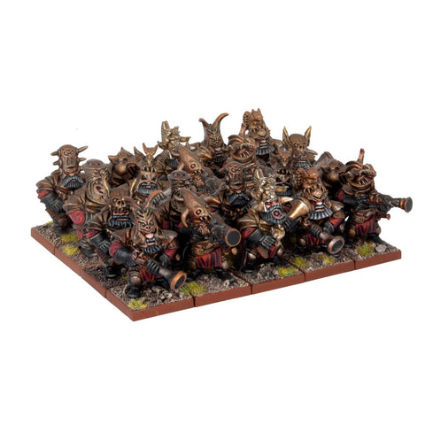 Abyssal Dwarf Decimator Regiment - Kings of War