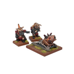 Abyssal Dwarf G'Rog Light Mortar - Kings of War