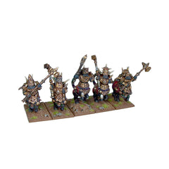Abyssal Dwarf Halfbreed Cavalry Regiment- Kings of War