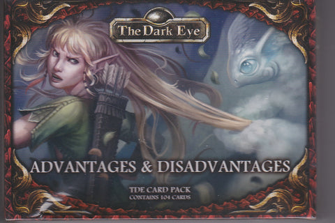 The Dark Eye - Advantages & Disadvantages Card Pack