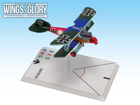 Albatros D.V VS. Spad XIII - Wings of Glory WWI Duel Pack