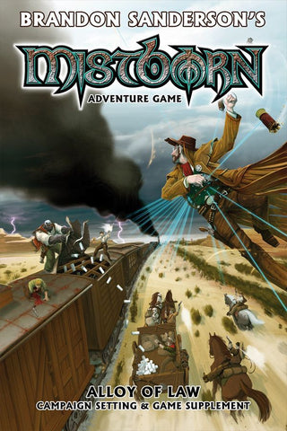 Alloy of Law - Campaign Setting - Mistborn Adventure Game