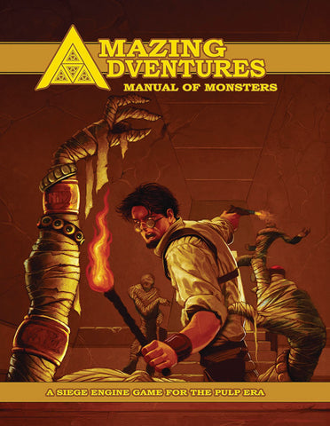 Amazing Adventures RPG Manual of Monsters