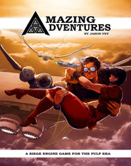 Amazing Adventures RPG - 2nd Edition