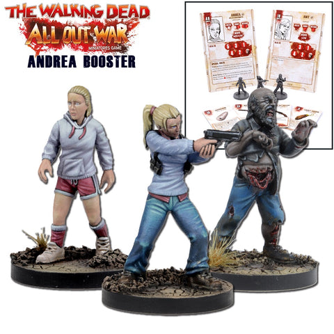Andrea Booster Pack - Walking Dead