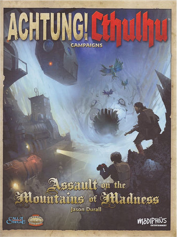 Achtung Cthulhu: Assault on the Mountains of Madness.