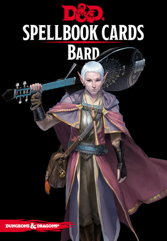 Bard Spell Deck (revised): Dungeons and Dragons 5th Edition