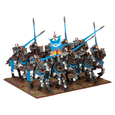 Basilean Paladin Knights - Kings of War