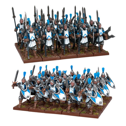 Basilean Men at Arms (40 figures) - Kings of War
