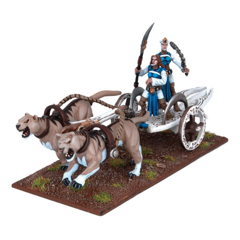 Basilean Sisterhood Panther Chariot - Kings of War