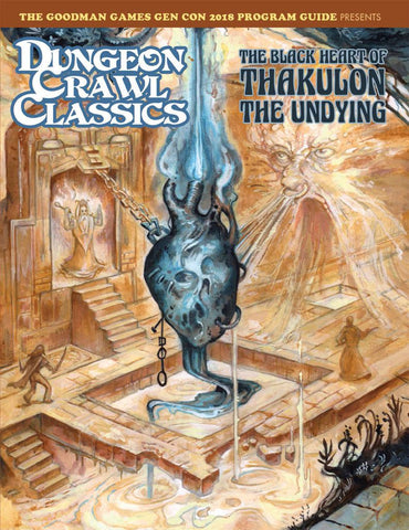 The Black heart of Thakulon the Undying - 4th level adventure - DCC