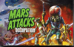 Mars Attacks Occupation - Topps - Box (120 cards) from Kickstarter