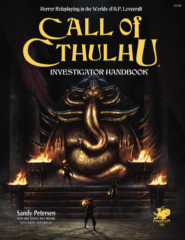 Call of Cthulhu 7th Edition: Investigator Handbook