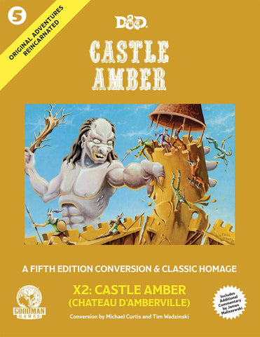 Original Adventures Reincarnated #5: Castle Amber (inc 5e)