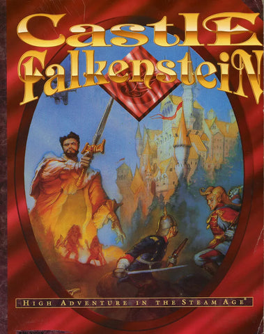 Castle Falkenstein - Core Rulebook