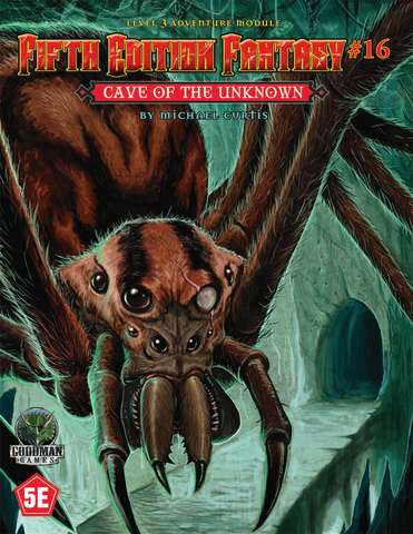 The Cave of the Unknown - 5th Edition Fantasy #16 - 5e (with PDF)