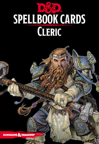 Cleric Spell Deck (revised): Dungeons and Dragons 5e