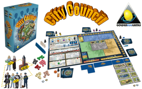 City Council: Small time politics in a city building game