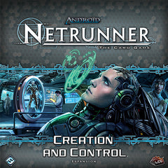 Android Netrunner LCG: Creation and Control Deluxe Exp.