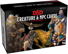 Creature and NPC Card Deck: Dungeons and Dragons 5e 5th Edition