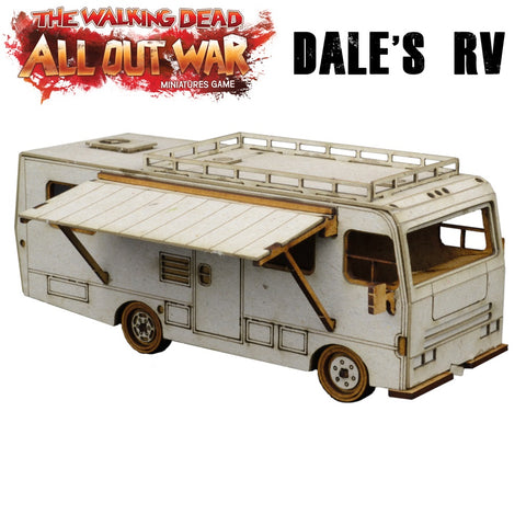 Dale's RV - MDF - for The Walking Dead and other games