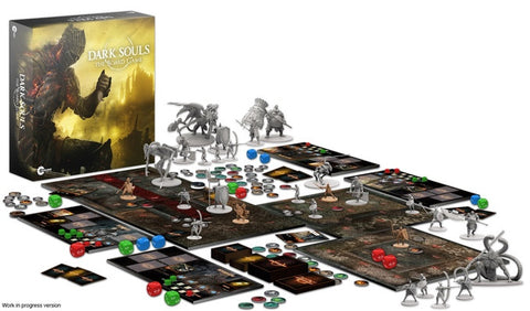 Dark Souls - The Board Game - From Kickstarter