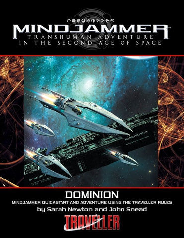 Dominion: Mindjammer Quickstart and Adventure Using the Traveller Rules