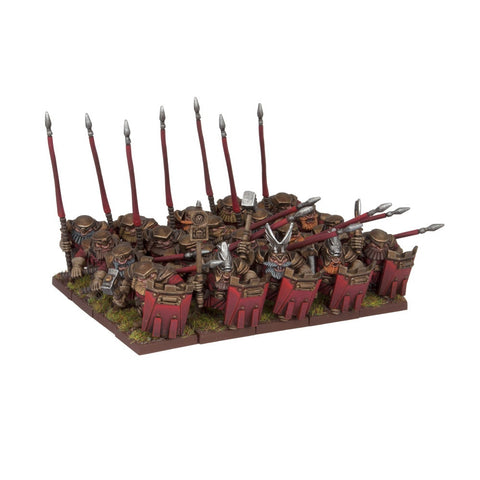 Dwarf Bulwarkers Regiment - Kings of War