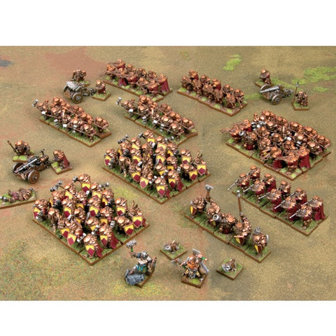 Dwarf Mega Army, Baldr's Armoured Battalion - Kings of War
