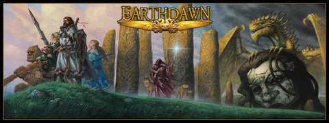 Earthdawn GM's Screen - 4th Edition