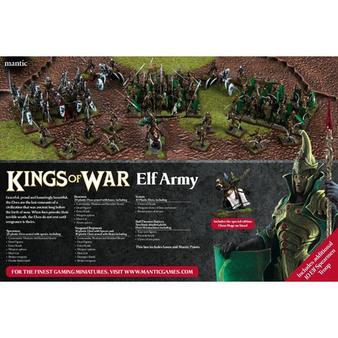 Elf Army Set (Old Style) - Kings of War