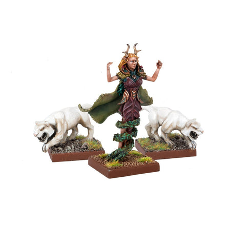 Green Lady (Elf Mage Queen) - Kings of War