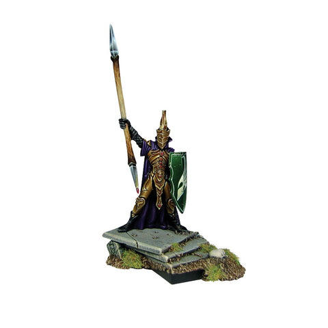 Elf King with Spear - Kings of War