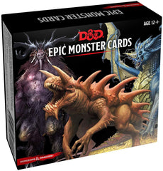 Epic Monster Cards: Dungeons and Dragons 5e 5th Edition