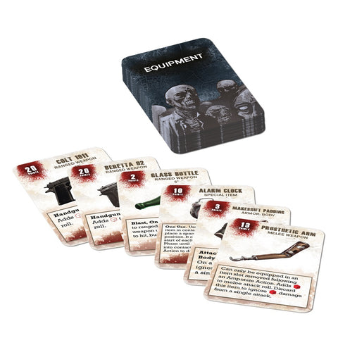 Equipment Booster Card Pack - Walking Dead