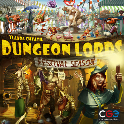 Dungeon Lords: Festival Season - Expansion