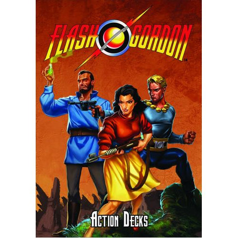 Flash Gordon RPG Double Action Deck