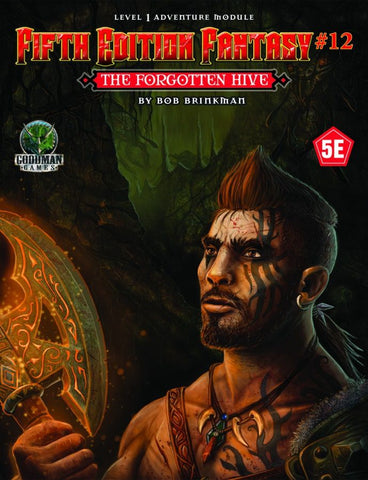 The Forgotten Hive - 5th Edition Fantasy #12 - 5e (with PDF)