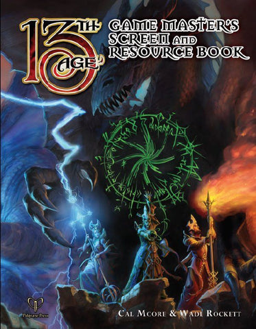 GM Screen & Resource Book: 13th Age Fantasy Supplement