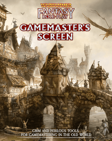 Warhammer Fantasy Roleplay Gamemaster's Screen - WFRP