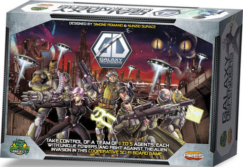 Galaxy Defenders Elite Agent Bundle - Kickstarter special