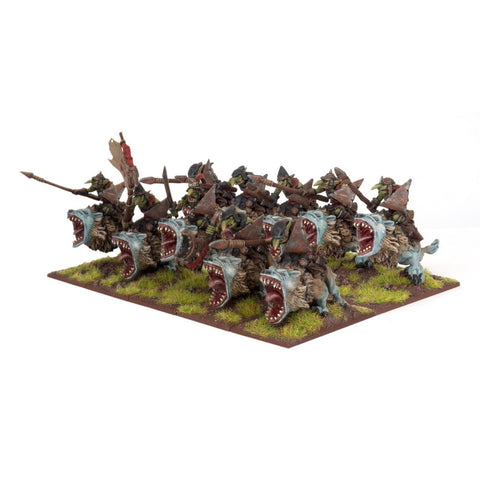 Goblin Fleabag Riders (10) - Kings of War