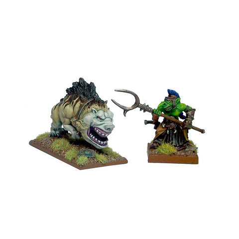 Goblin Mawbeast & Handler (Magwa & Joo's) - Kings of War
