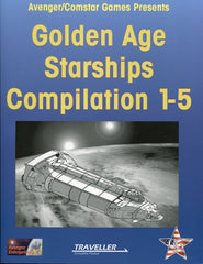Golden Age Starships Compilation 1-5 for Traveller