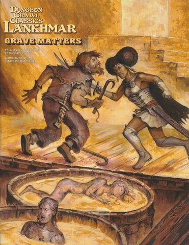 Grave Matters - 2nd Level Adventure - DCC Lankhmar