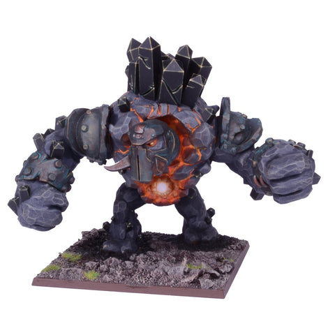 Abyssal Dwarf Greater Obsidian Golem - Kings of War