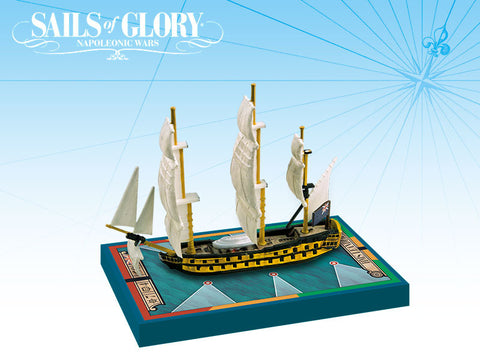 HMS Leander/HMS Adamant - Sails of Glory Ship Pack - New