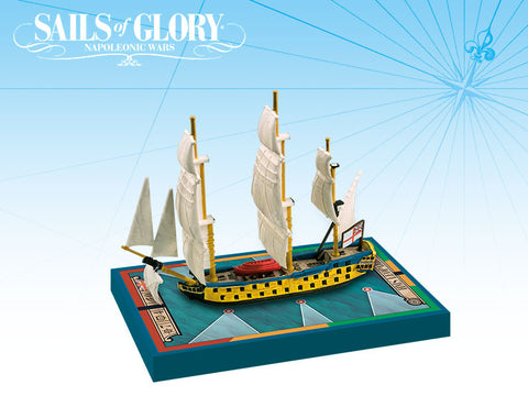 HMS Leopard/HMS Isis - Sails of Glory Ship Pack -  SGN110B