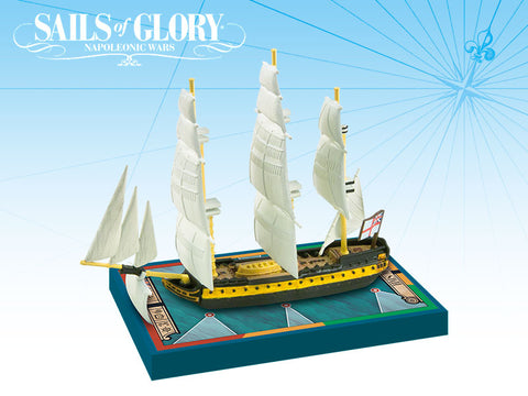 HMS Malta / HMS Tonnant - Sails of Glory Ship Pack - SGN115C