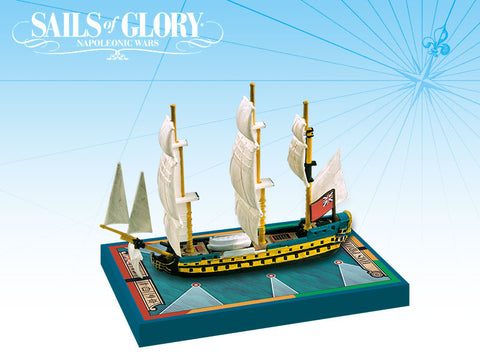 HMS Protee/HMS Argonaut - Sails of Glory Ship Pack - SGN109C
